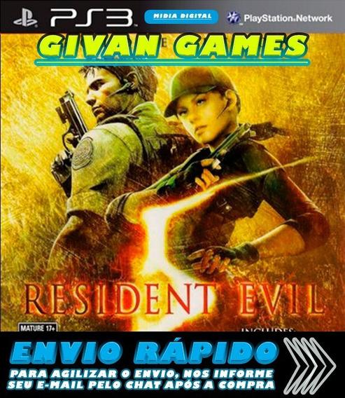 Jogo Resident Evil 5 Gold Edition Ps3 Envio Rapido