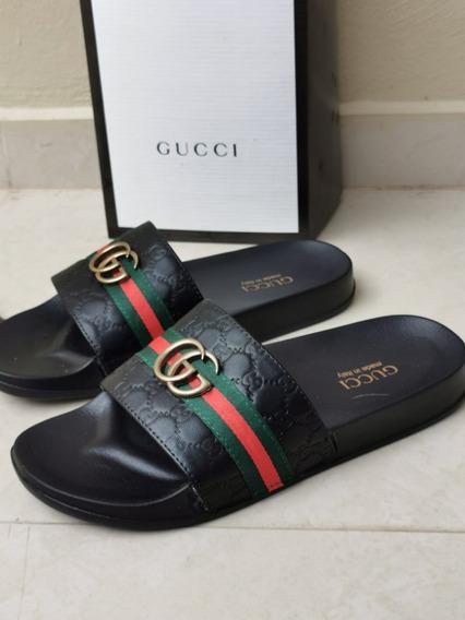 Sandalias Chanclas Waraches Gucci Versace Hombre Envio Grati