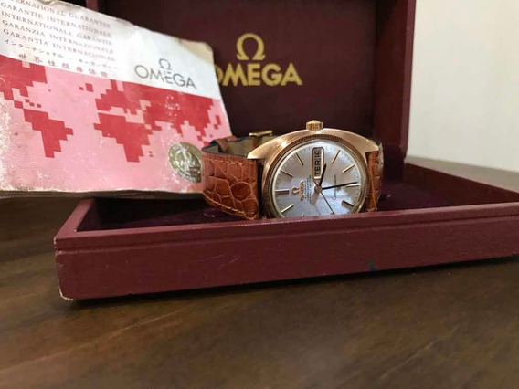 Omega Constellation Automatic Day-date Chronometer Gold/stel
