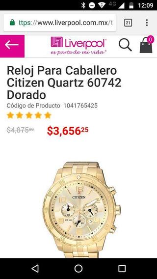 Reloj Nuevo Citizen.