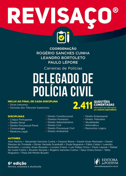 Revisaço - Delegado Polícia Civil - Edição Atualizada