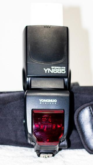 Flash Speedlite Yongnuo Yn685 Ttl Wireless Para Canon