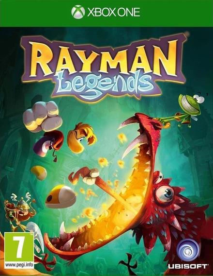 Rayman Legends + 1 Jogo Brinde Xbox One