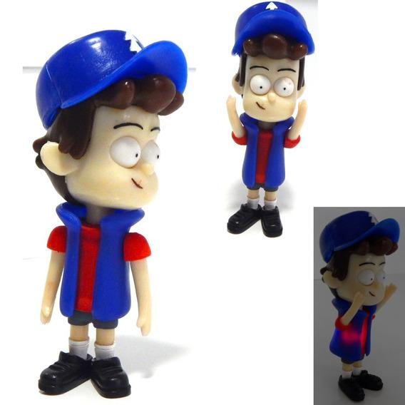 Gravity Falls Figura Dipper Pines Con Gorra Y Luz Led 19cm