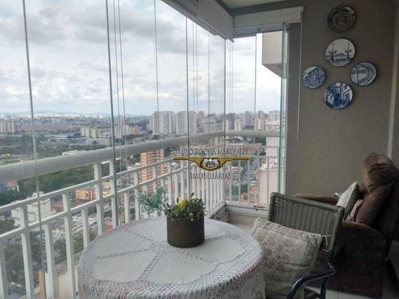 Apartamento Com 3 Dormitórios Para Alugar, 96 M² Por R$ 4.200,00/mês - Belém - São Paulo/sp - Ap2425