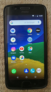 Motorola Moto G5 4g Lte 32g Ram 2g Con Huella Impecable