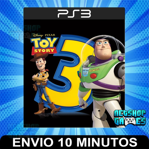 Toy Story 3 - Ps3 Digital - Español - Entrega Rápida