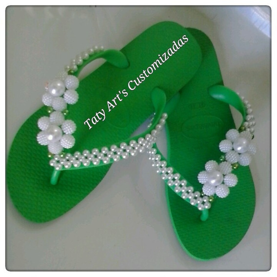 Sandálias Customizada Disponivél Em Todos Os Tamanho E Cores