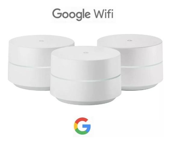 Google Wifi Ac-1304 Smart Home Roteador 3 Pontos