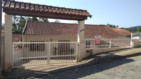 Casa Com 2 Dormitórios À Venda, 160 M² Por R$ 350.000 - Velha - Blumenau/sc - Ca0513