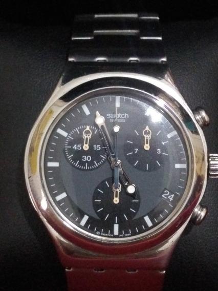 Relógio Swath Swiss Irony Mostrador Azul, Cronógrafo