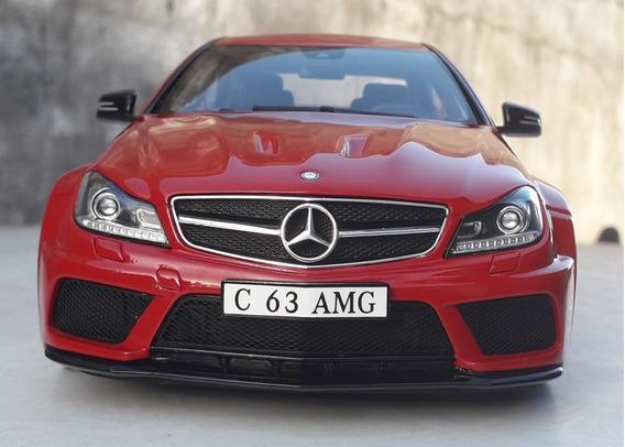 1:18 Miniatura Mercedes C63 Amg Black Series Gt Spirit