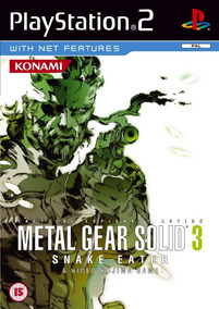 Metal Gear Solid 3: Snake Eater Ps2 (dvd)