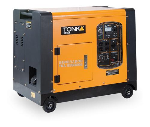 Imagen 1 de 1 de Generador portátil Tonka TKA-GSS8000E 7000W 110V/220V