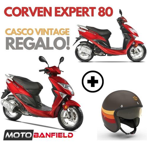 Imagen 1 de 10 de Corven Expert 80 Scooter + Casco De Regalo!!