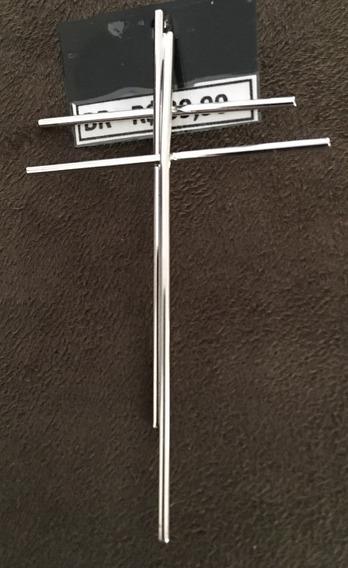 Brinco Double Cross (usado Somente Em Uma Orelha)