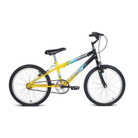 Bicicleta Infantil Aro 20 Ocean Preto E Amarelo Verden Bikes