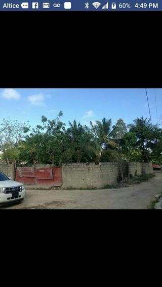 Vendo Hermoso Terreno Ubicado En Boca Chica Cerca Del Muelle
