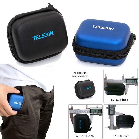 Gopro Hero Storage Bag Pequeno Kit Portatil Azul