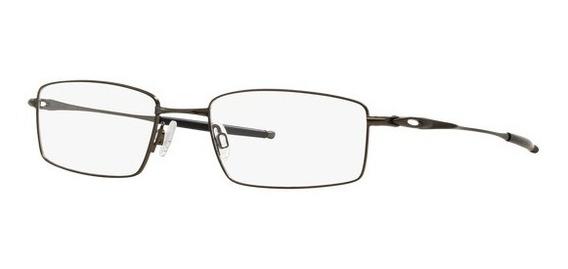 Óculos De Grau Oakley Top Spinner 4b Ox3136 Preto Pewter