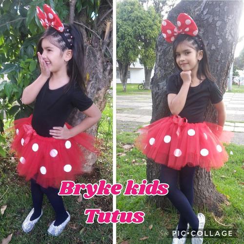 Disfraz Disfraces Minnie Niña Tutu Costume