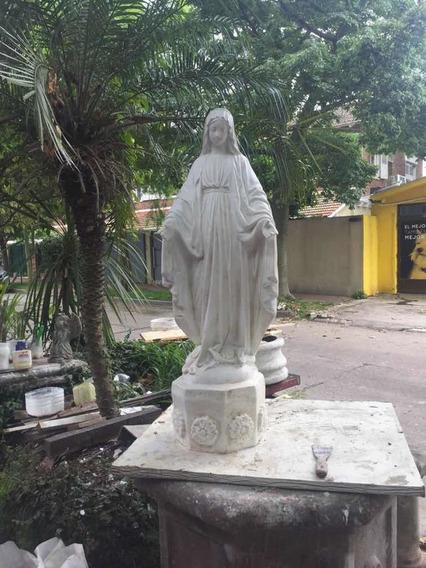 Virgen Medalla Milagrosa, Cemento, 1 Metro, 85cm, 75cm