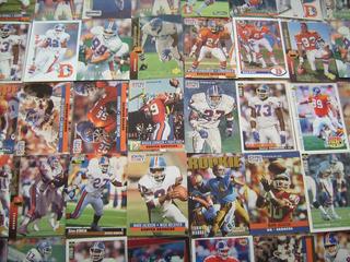 Lote 50 Tarjetas Futbol Americano Broncos De Denver