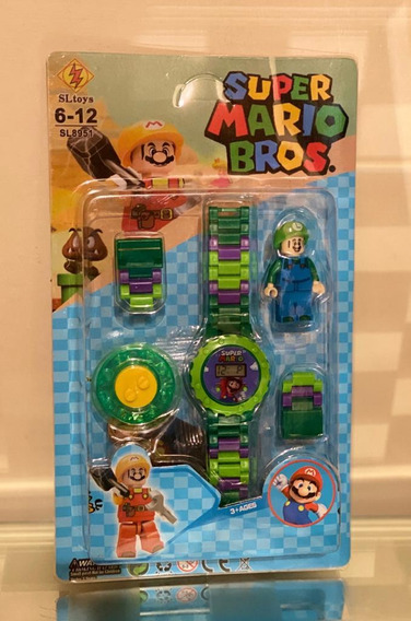 Reloj Lego Mario Bros
