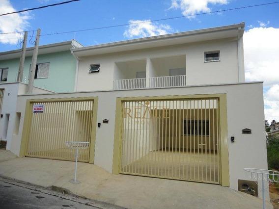 Casa Com 3 Dormitórios Para Alugar, 160 M² Por R$ 2.400,00/mês - Jardim Elisa - Vinhedo/sp - Ca0800