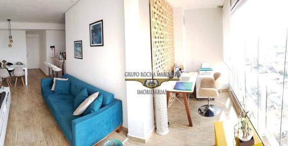 Apartamento Com 1 Dormitório À Venda, 55 M² Por R$ 460.000,00 - Tatuapé - São Paulo/sp - Ap2265