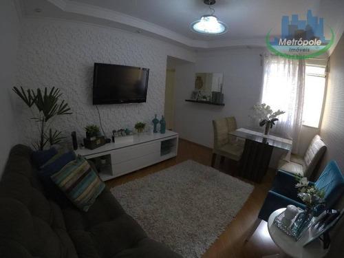Apartamento Com 2 Dormitórios À Venda, 55 M² Por R$ 199.900 - Jardim Odete - Guarulhos/sp - Ap0867