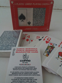 Baralho Plastic Coated Poker Cards 54 Cartas