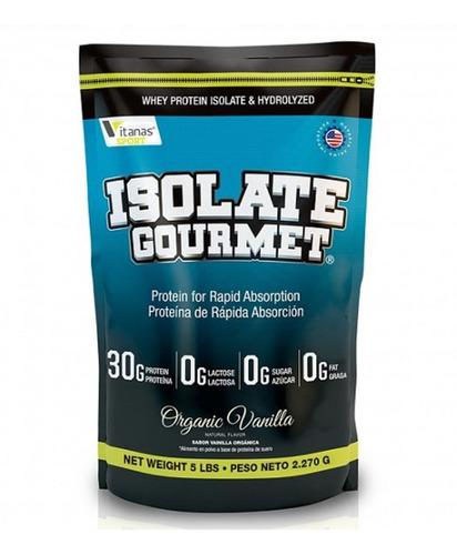 Whey Isolate Gourmet X5 Libras - Mejor Que Isopure O Iso100