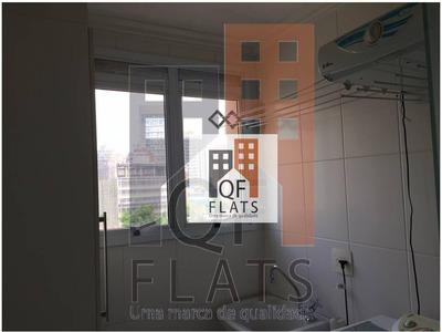 Flat Com 1 Dormitório Para Alugar, 48 M² Por R$ 4.400/mês - Vila Nova Conceição - São Paulo/sp - Fl0276