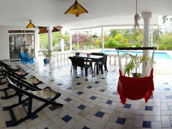 Cabaña Vacacional Con Piscina En San Andres Para Festivos