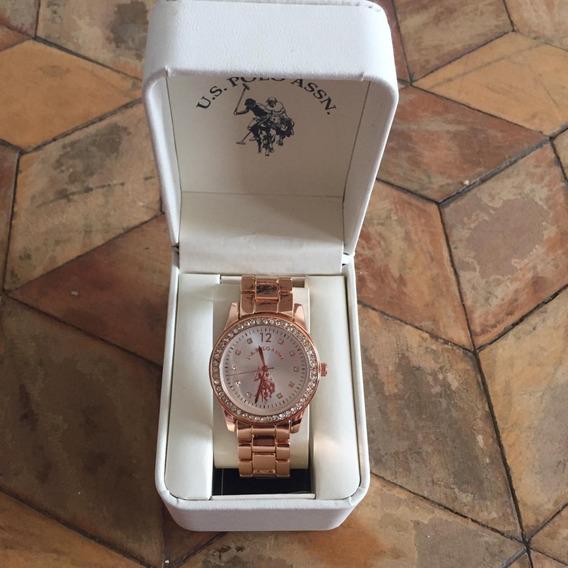 Relógio U.s Polo Assn. Rosé Feminino
