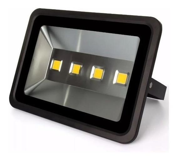 Refletor Super Led Holofote 200w Ip66 Branco Frio 4 Leds
