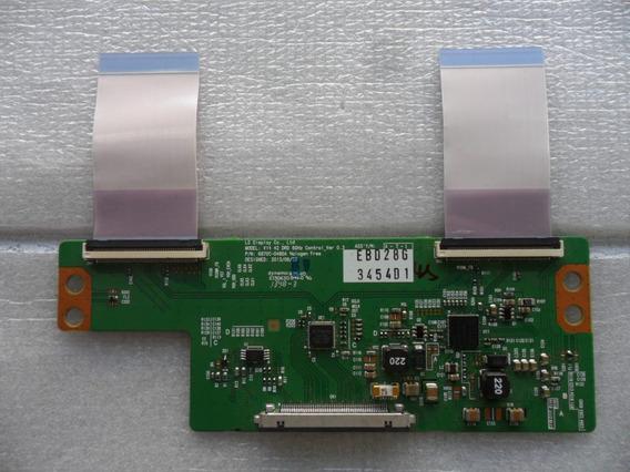 Placa T-con Com Flat 6870c-0480a Varios Modelos LG