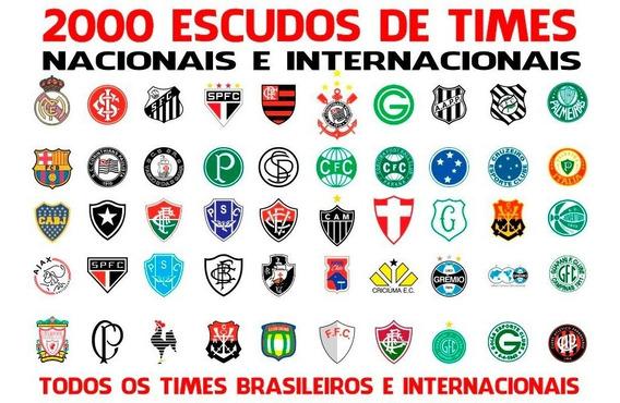 2000 Vetores De Times Futebol - Brasileros E Internacionais