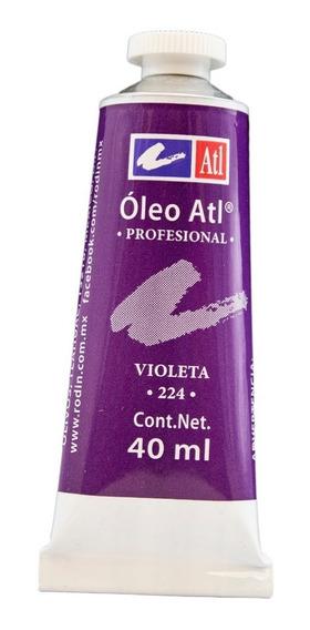 Oleo Atl 160 Ml Violeta Nº.224 Pintura Arte Rodin