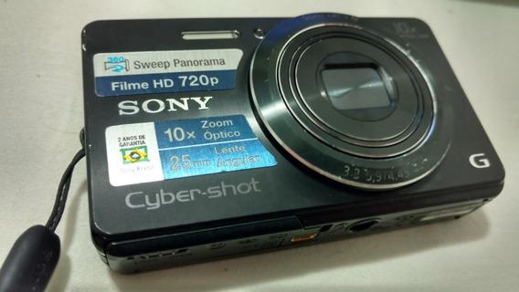 Câmera Digital Sony Cybershot Dsc-w690 + Case Fortrek Rígida