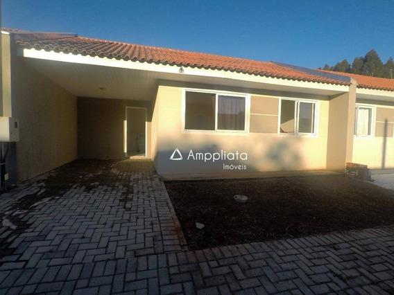 Casa Com 2 Dormitórios Para Alugar, 63 M² Por R$ 600,00/mês - Jardim Diamante - Campina Grande Do Sul/pr - Ca0282