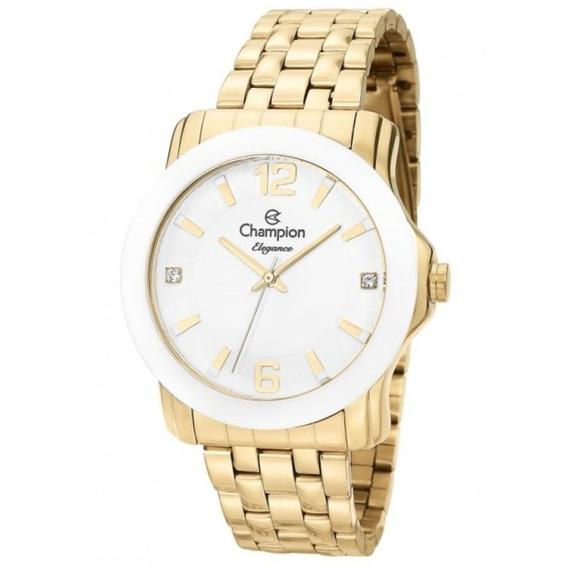 Relógio Champion Feminino Elegance Analógico Cn27661h
