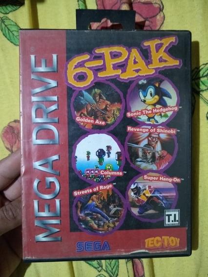 6-pak Mega Drive Original