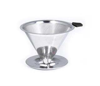 Coador De Café Pour Over Em Aço Inox Bialetti Original