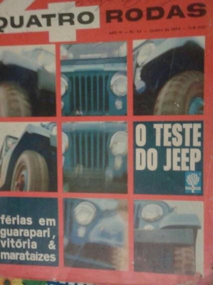 Revista Quatro Rodas 1964