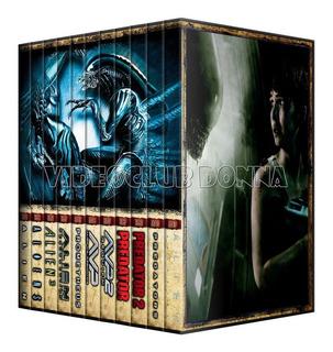 Alien Vs Predator Saga Completa Colección Dvd 11 Pack Latino