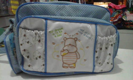 Bolsa De Bebê Azul