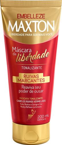 Máscara Tonalizante Máscara Da Liberdade Maxton Ruivas Marca