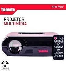 Projetor Portátil Multimídia Hdmi 300 Lumens Tomate Mpr-9010